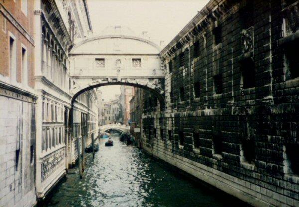 Pont des Soupirs en 1985