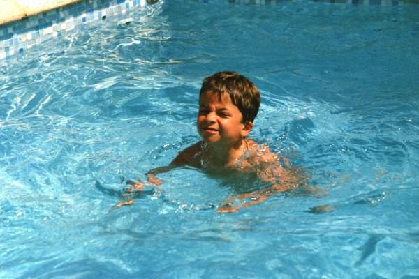 Laurent, nageur