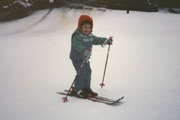 Laurent, skieur