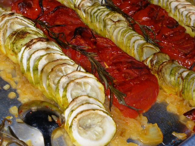 Tian provençal de légumes